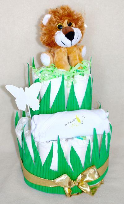 gâteau-de-couches-lion