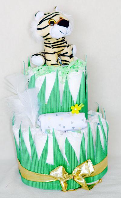 gâteau-de-couches-léopard