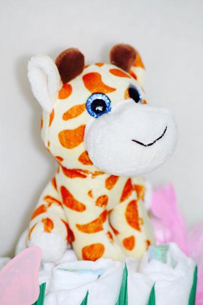 peluche-girafe-bébé