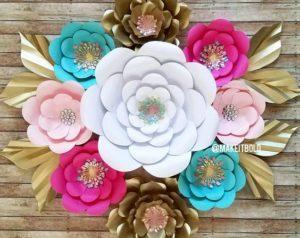 fleurs-papier