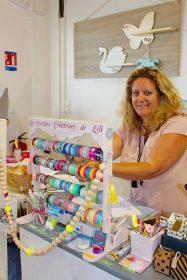 Aurélie, gérante de la boutique les petites créatrice de lili en Guadeloupe