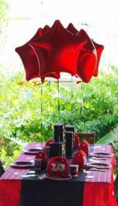 table-anniversaire-lady-bug