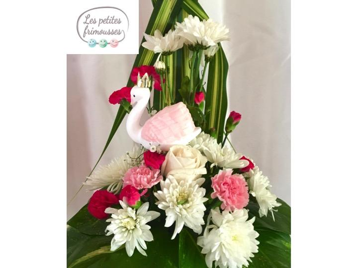bouquet fleurs baptême Guadeloupe