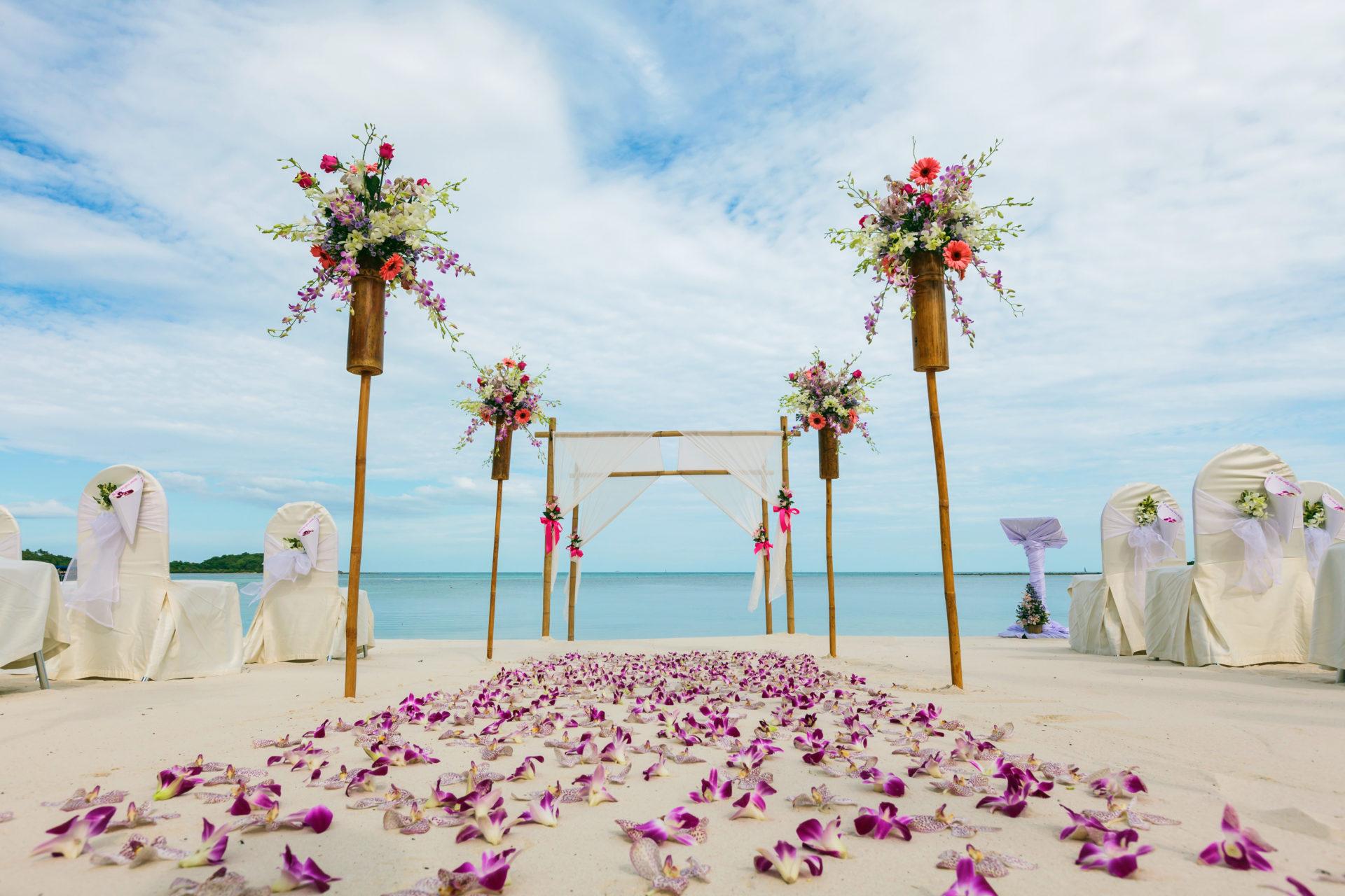 mariage sur la plage guadeloupe